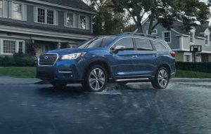 Subaru Ascent 2020 bleu