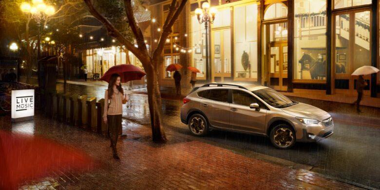 Subaru Crosstrek 2021 à l'extérieur
