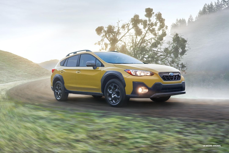 Subaru Crosstrek 2021 orangé