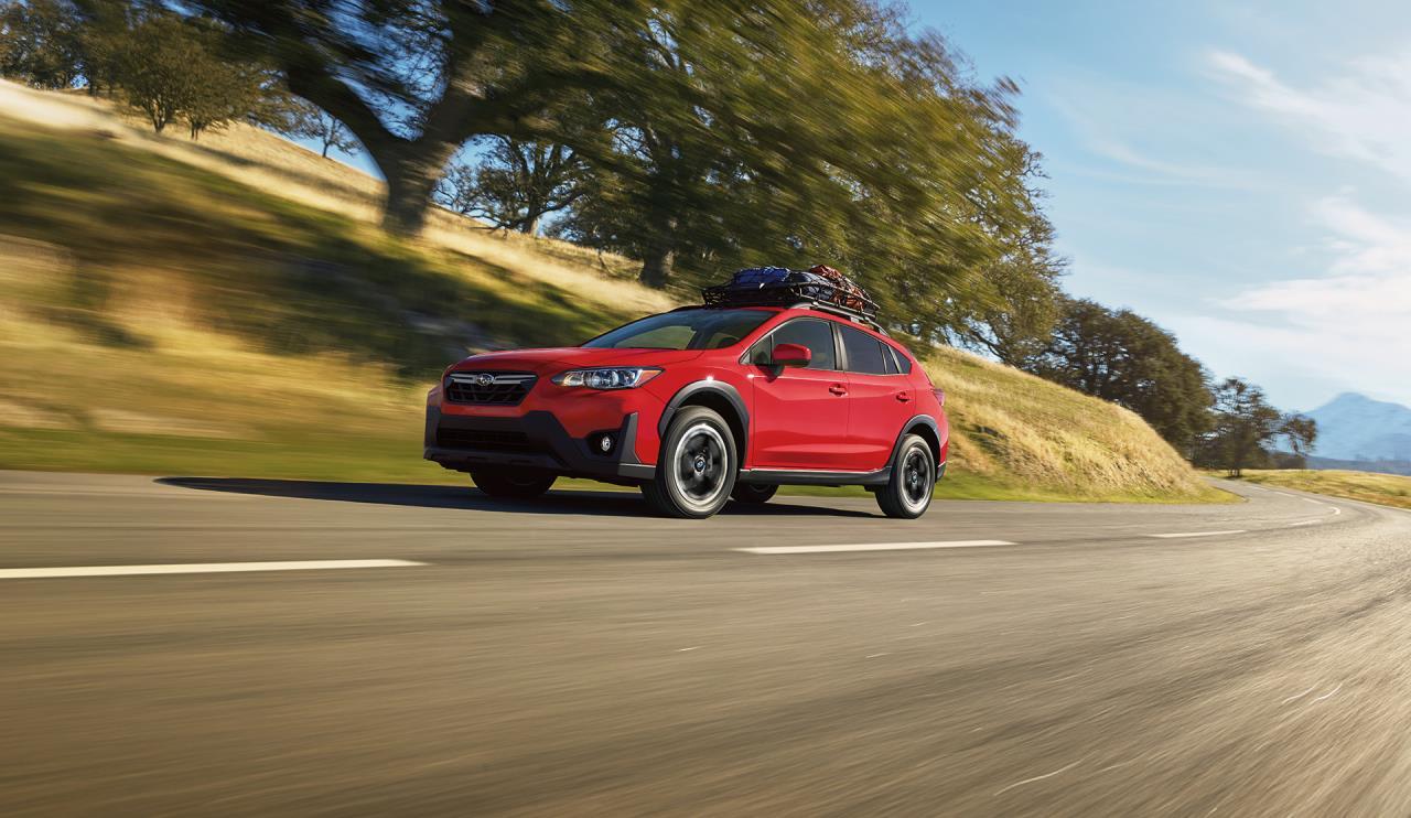 Subaru Crosstrek 2021 sur la route