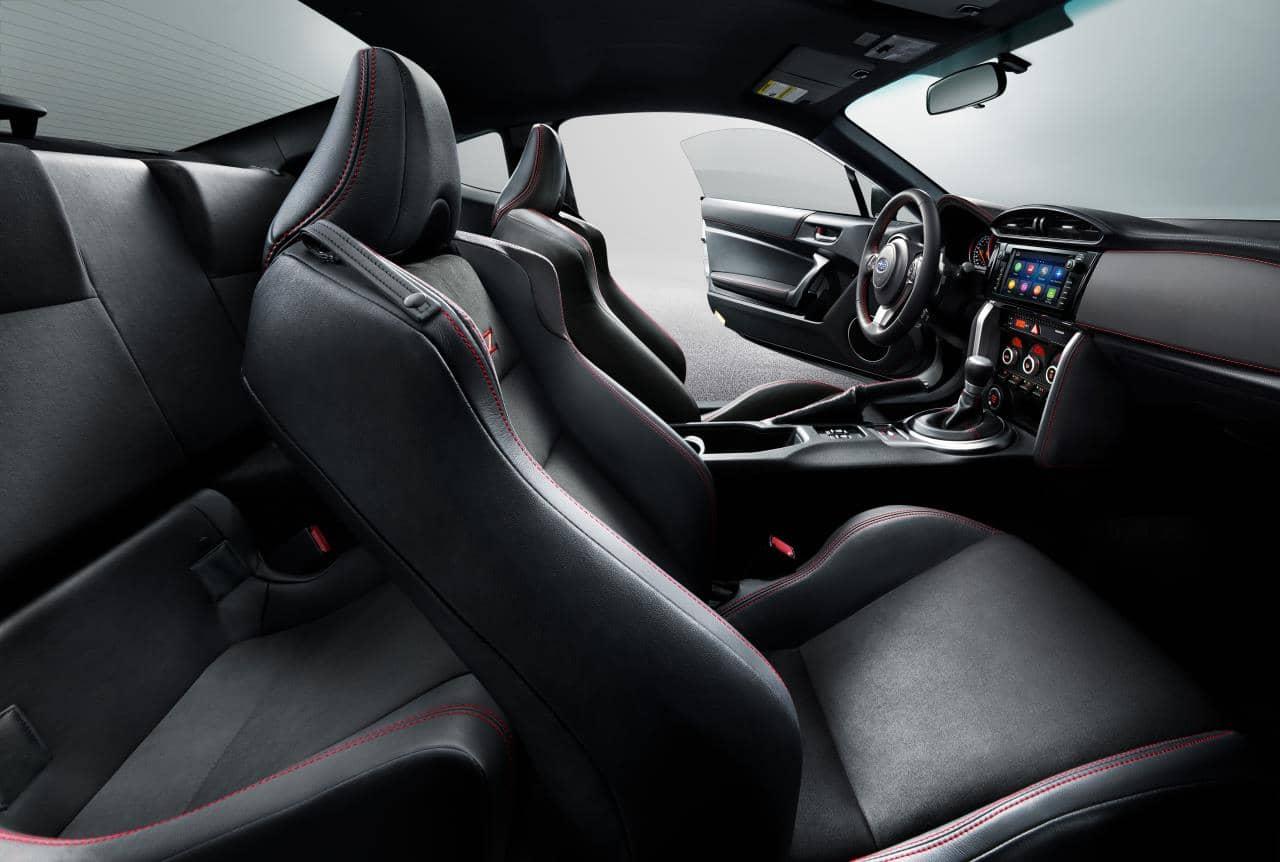 Habitacle de la Subaru BRZ 2020